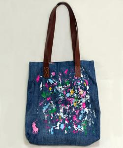 RALPH LAUREN #950220A 限定 ペイント TOTE 写真