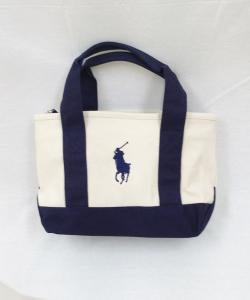 RALPH LAUREN RA100023* Embroidry Tote Bag 写真
