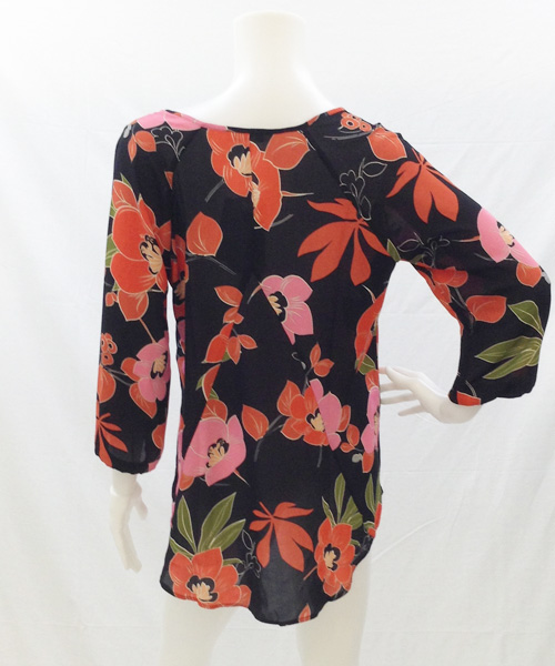 B15560RDP1 FLOWER BLOUSE 写真