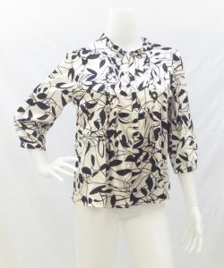VERTIGO PARIS LEAF RIBBON BLOUSE 写真