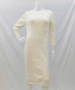 New York & Company New York & Company ニット 7704196 CableKnitDress 写真