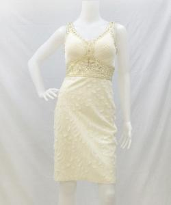 Sue Wong N4367 CutoutSkirtDecoDress 写真