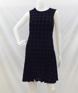 DONNA MORGAN D2785M VelvetSquareFlareDress 写真