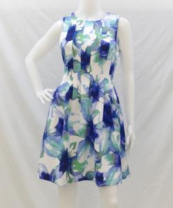 Vince Camuto VC7M8903 FloralFlareDress 写真