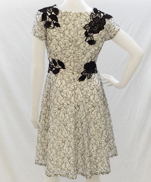 MD1E201162 LACE DRESS 写真