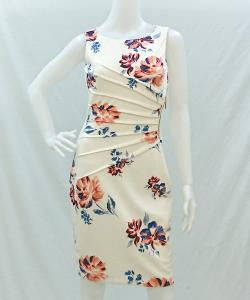 Ivanka Trump ID8N1302 FloralSideTuckDress 写真